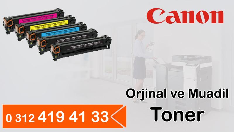 Canon Orjinal ve Muadil Toner