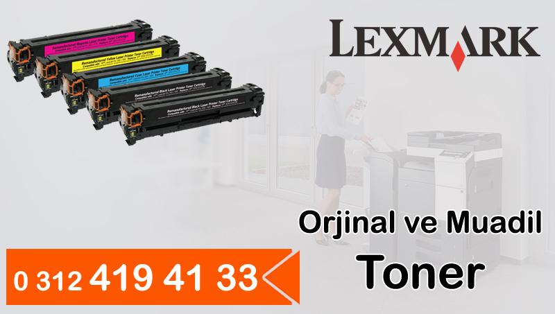 Lexmark Orjinal ve Muadil Toner