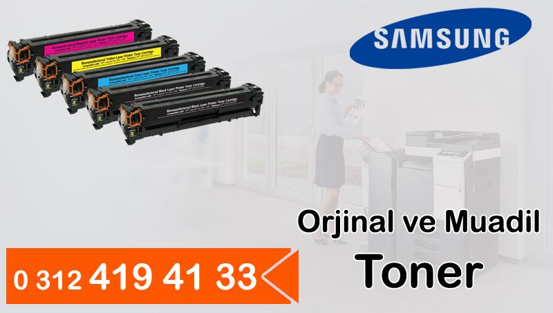 Samsung Orjinal ve Muadil Toner